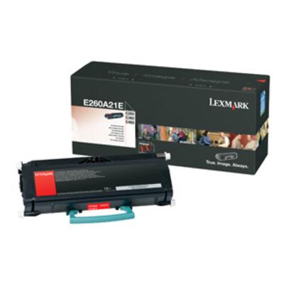 Lexmark E260A21E Toner - Zwart
