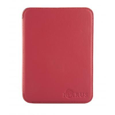 Icarus e-book reader case: Rode PerfectFit beschermhoes voor Illumina E654BK e-reader - Rood
