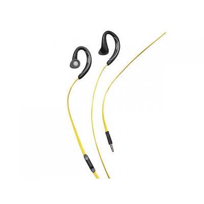 Jabra headset: Sport Corded - Zwart, Geel