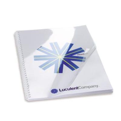 Gbc binding cover: HiClear Bindomslagen A3 PVC 240 micron Transparant (100)