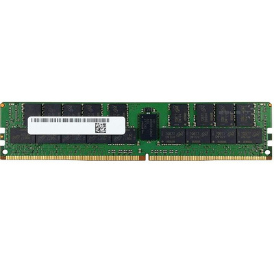 Micron 64GB (x72, ECC, 3DS 2H Stack, 2 Package Ranks x 2 Logic Ranks), 288-Pin, DDR4, RDIMM RAM-geheugen