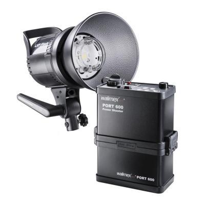 Walimex fotostudie-flits eenheid: 20718 - Zwart