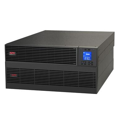 APC Easy-UPS On-Line 10000VA Noodstroomvoeding Hardwire 1 fase uitgang, USB, Railkit, extendable runtime UPS - Zwart