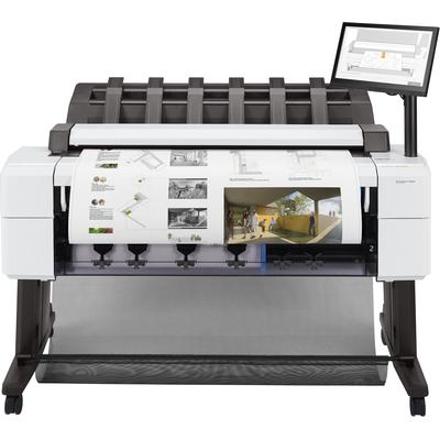 HP Designjet T2600dr Grootformaat printer - Cyaan, Grijs, Magenta, Mat Zwart, Foto zwart, Geel