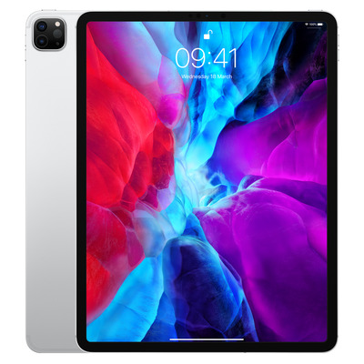 Apple iPad Pro 12.9-inch (2020) Wi-Fi + Cellular 256GB Silver Tablet - Zilver