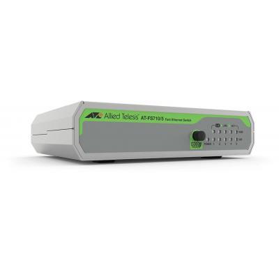 Allied Telesis FS710/5 Switch - Groen, Grijs