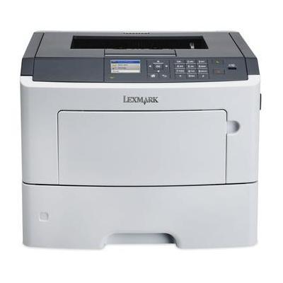 Lexmark laserprinter: MS610dn + 502U yield toner - Zwart
