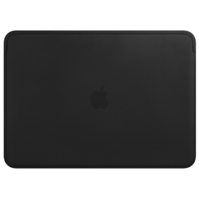 Apple Leather Sleeve for 13-inch MacBook Pro – Black Laptoptas