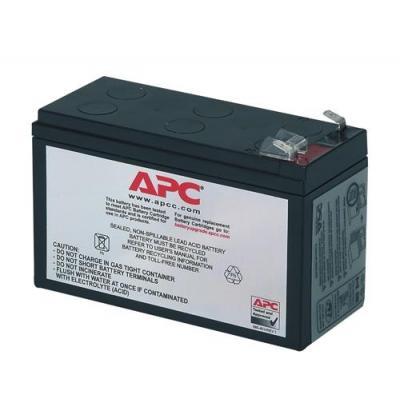 Apc batterij: Batterij Vervangings Cartridge RBC17 - Zwart