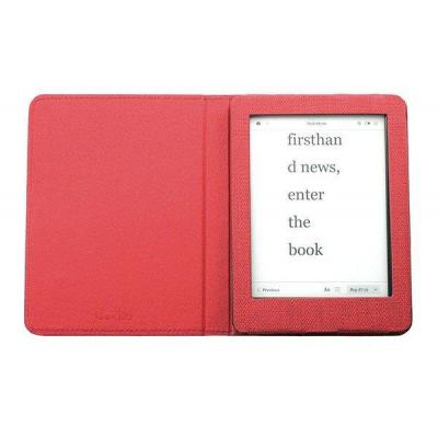 Gecko covers e-book reader case: 157 x 115 x 9 mm, 115 g, f/ Glo HD - Rood