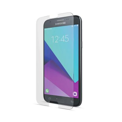 Behello screen protector: Samsung Galaxy J3 (2017) High Impact Glass Transparent - Transparant