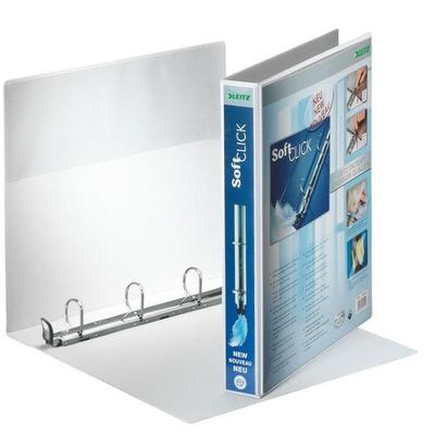 Leitz ringband: Presentation Binder Premium White 4 x 30 mm - Wit