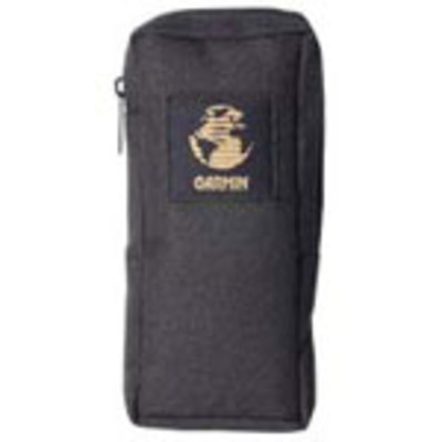 Garmin navigator case: Carrying case (black nylon with zipper) - Zwart