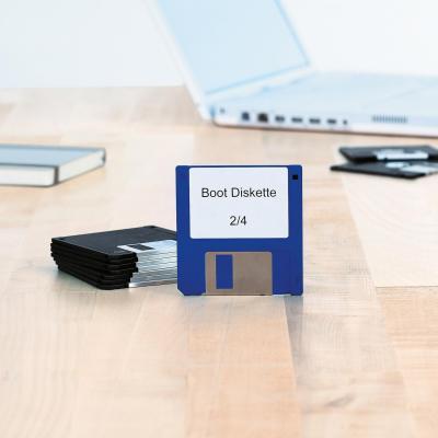 Herma etiket: Diskette-etiketten wit 3.5 70x50.8 A4 250 st.