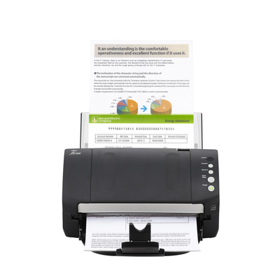 Fujitsu fi-7140 Scanner - Zwart, Wit
