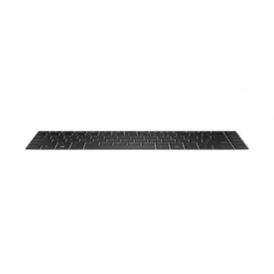 HP Keyboard, No backlight, for ProBook 640 G4 notebook reserve-onderdeel - Zwart