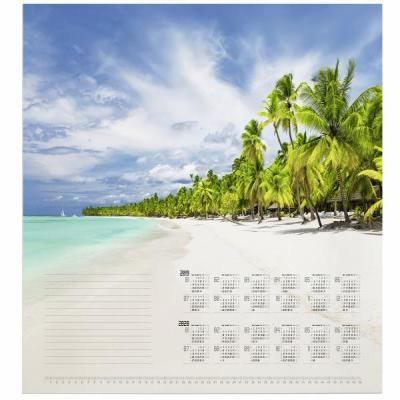 Durable kalander: Papierblok Tropical Beach