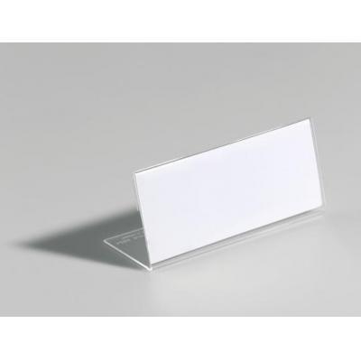 Durable naambadge: Tafelnaambordjes van Acryl, Transparant