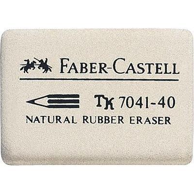 Faber-castell gummen: 7041-40 - Wit