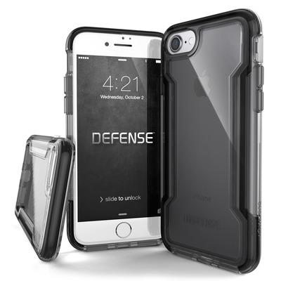 X-Doria 456425 Mobile phone case - Zwart, Transparant