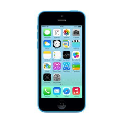 Apple smartphone: iPhone 5c 32GB - Blauw Refurbished (Refurbished LG)