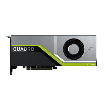 PNY NVIDIA Quadro RTX 5000, 16 GB GDDR6 ECC, 3072 CUDA, NVLink 50 GB/S, PCI Express 3.0 x16, 4x DP 1.4, 112x267 mm .....