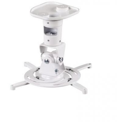 Hama projector plafond&muur steun: Projector Ceiling Mount, white - Wit