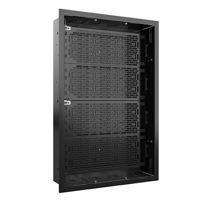 Chief Proximity Extra-Large In-Wall Storage Box with Flange and Lever Lock, max 4.5 kg, 18.1 kg, Black Rack - Zwart