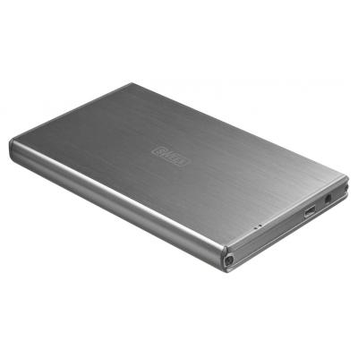 "Sweex behuizing: 6.35 cm (2.5 "") SATA II HDD Enclosure USB 3.0 - Zilver"