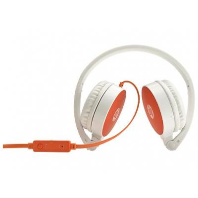HP H2800 Headset - Oranje, Wit