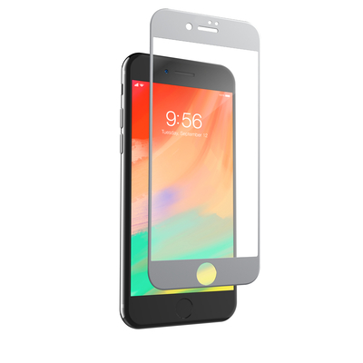 ZAGG InvisibleShield Glass Contour Screen protector - Transparant, Wit