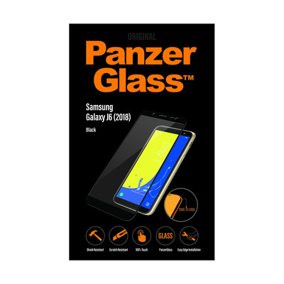 PanzerGlass Samsung Galaxy J6 (2018) Edge-to-Edge Screen protector - Transparant