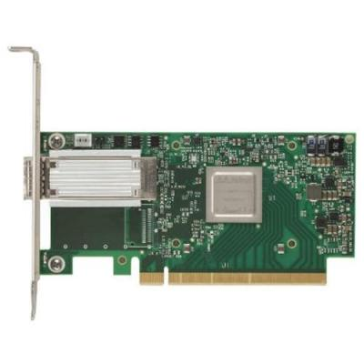 Dell netwerkkaart: Mellanox ConnectX-4 met 1 poort EDR VPI QSFP28 - laag profiel adapter klant te installeren