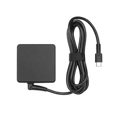 Dynabook USB Type-C™ PD3.0 netstroomadapter - 2-pins Netvoeding - Zwart