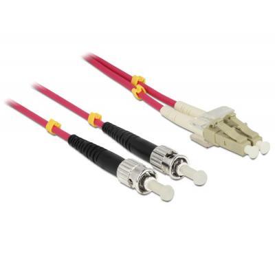 Delock fiber optic kabel: LC - ST, 3m