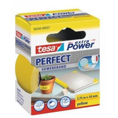 Tesa plakband: Extra Power 38mmx2.75m - Geel
