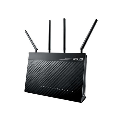 ASUS DSL-AC87VG wireless router - Zwart