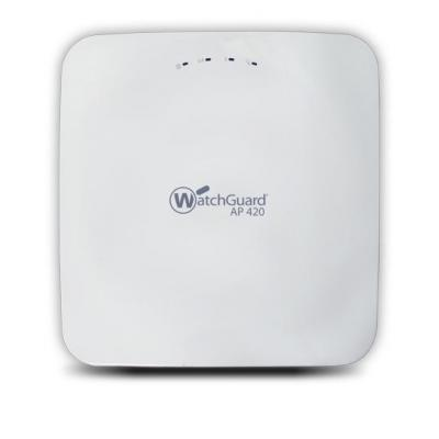 WatchGuard 2.4GHz/5GHz, 27 dBm, 1.7 Gbps, 802.11ac, 8 x SSID, 2 x 1 Gb LAN, 802.3at PoE+, 1.3 kg, 3Y Secure .....