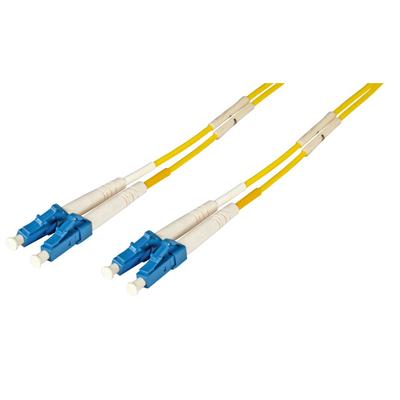 EFB Elektronik O0350.1 Fiber optic kabel - Geel