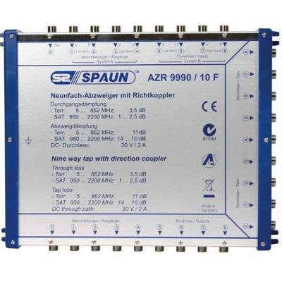Spaun AZR 9990/10 F Kabel splitter of combiner - Blauw