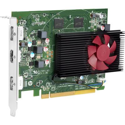 HP AMD Radeon RX550 4 GB 2DP-kaart Videokaart