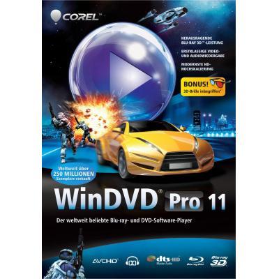 Corel videosoftware: WinDVD Pro 11