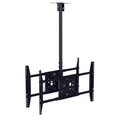 Multibrackets flat panel plafond steun: M Public, Large Back to Back - Zwart