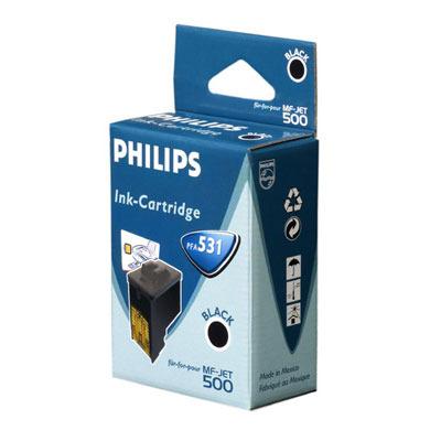 Philips Ink Black MF-Jet Pages 1.000 Inktcartridge - Zwart