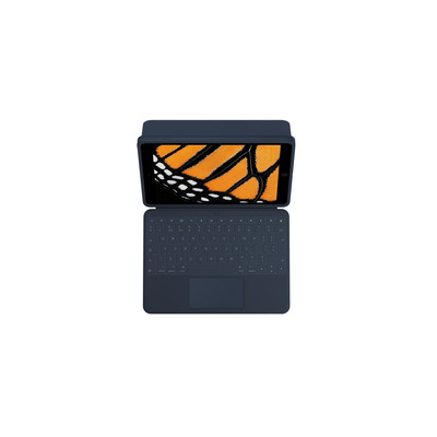 Logitech Rugged Combo 3 Touch EDU - QWERTY Mobile device keyboard - Blauw