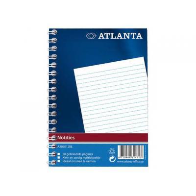 Atlanta register: Notitieboek A6 spiraal/pak 20
