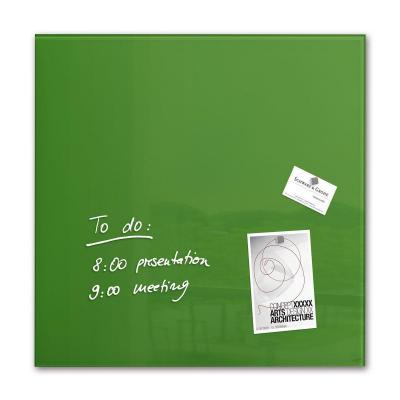 Sigel magnetisch bord: Glas-magneetbord, 48 x 48 cm - Groen