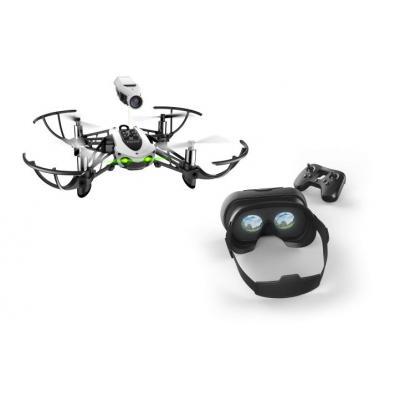 Parrot drone: Mambo FPV - Zwart, Wit