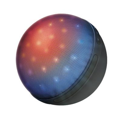 Trust Balvormige verlichte draadloze luidspreker Draagbare luidspreker - Zwart