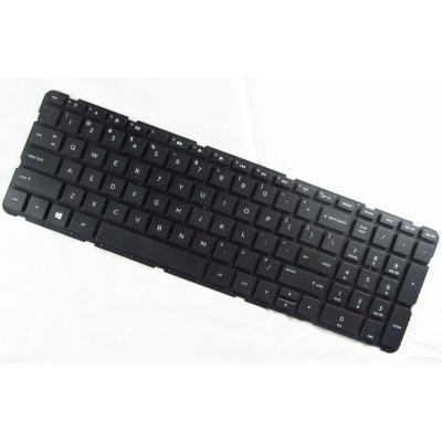 HP Keyboard (International), Black notebook reserve-onderdeel - Zwart